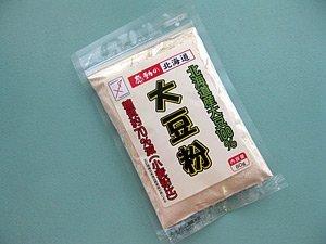 大豆粉 80g×10袋 北海道産大豆100%使用 小麦粉と比べ糖質70%カット 【ダイズの力】