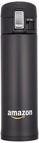 【Amazon.co.jp限定】象印 (ZOJIRUSHI) 水筒 直飲み ステンレスマグ480mlブラック SM-KT48AZ-BA