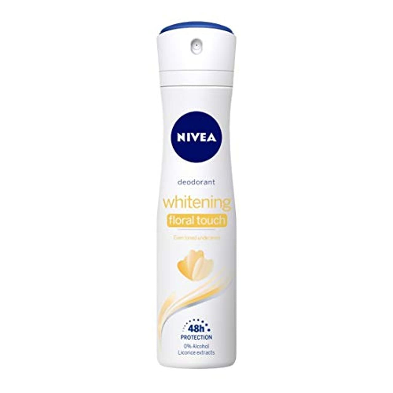 囚人バスト神秘的なNivea Whitening Floral Deodorant For Women, 150ml(Ship from India)