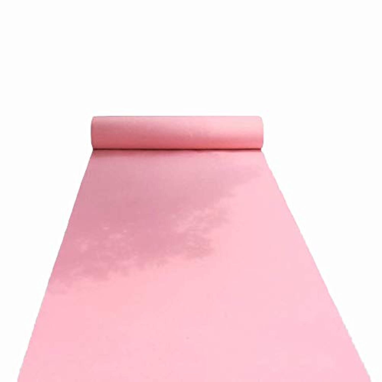 ピンクの結婚式の敷物、T台湾の祝賀ロマンチックな結婚式のため CONGMING (色 : Light pink, サイズ さいず : 1 * 20m)