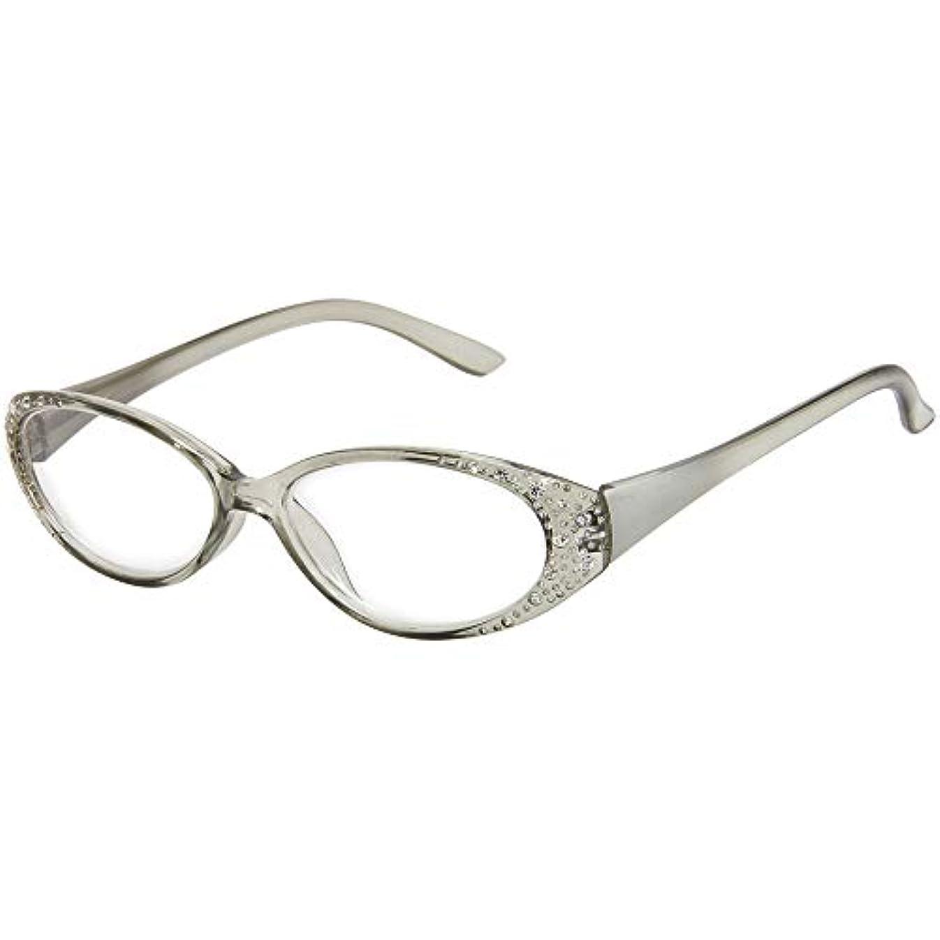 道路学部等しい老眼鏡 リーディンググラス シニアグラス グレー 615GL※このページは「+3.50」のみの販売です◆+3.50