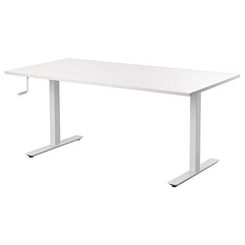 IKEA(イケア) SKARSTA デスク 昇降式, ホワイト (99084963)
