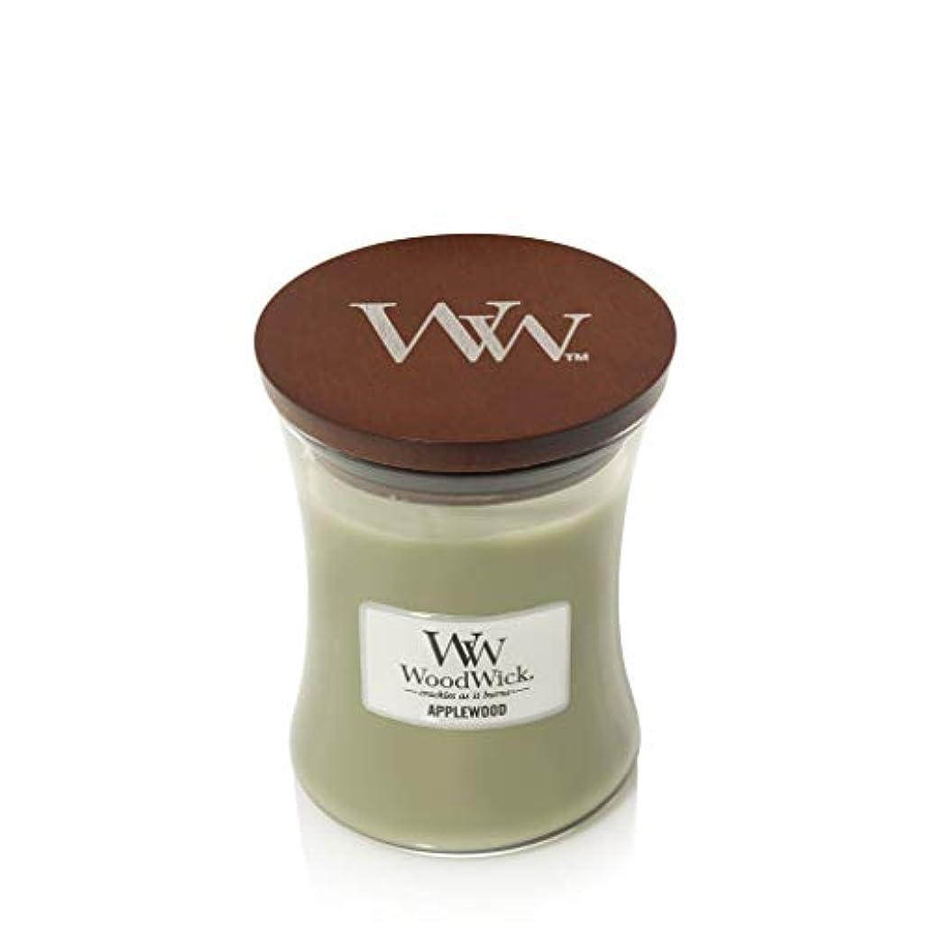 流用する収縮協定WoodWick 5038581057804 キャンドル ミディアム アップルウッド 92101E ワンサイズ