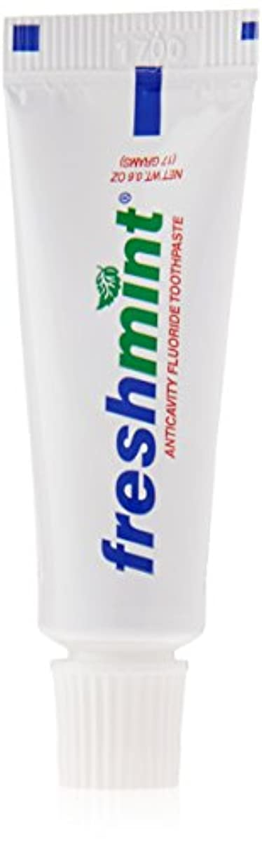 構造的ラッシュ定数Freshmint - 0.6 oz Freshmint Fluoride Toothpaste (Cases of 144 items) by Freshmint
