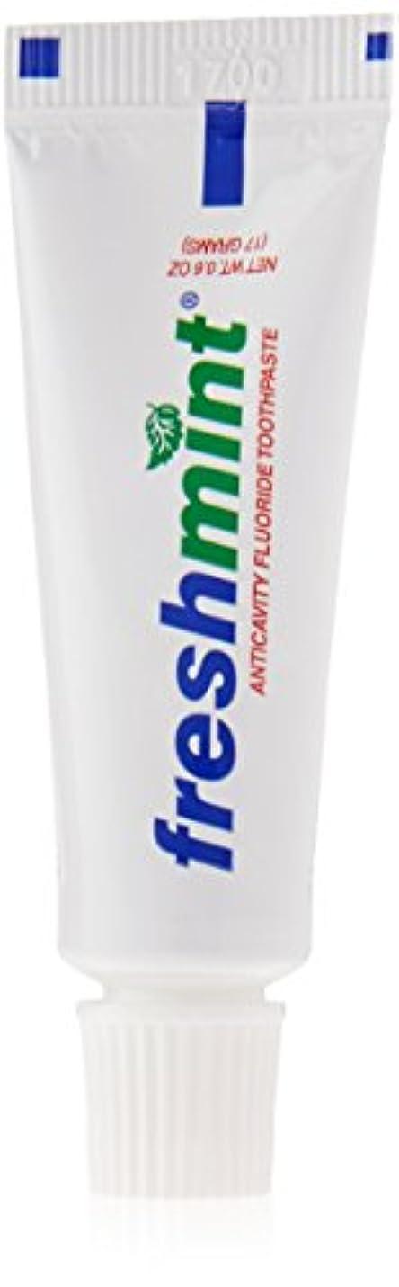 強要耐えられない奇跡Freshmint - 0.6 oz Freshmint Fluoride Toothpaste (Cases of 144 items) by Freshmint