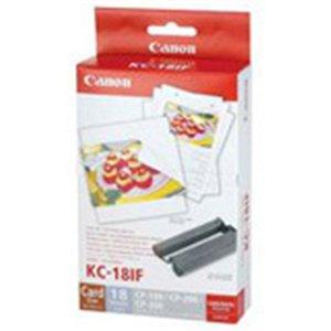 Canon、Inc–Canon kc-18if–カートリッジ、インク/ラベルシート