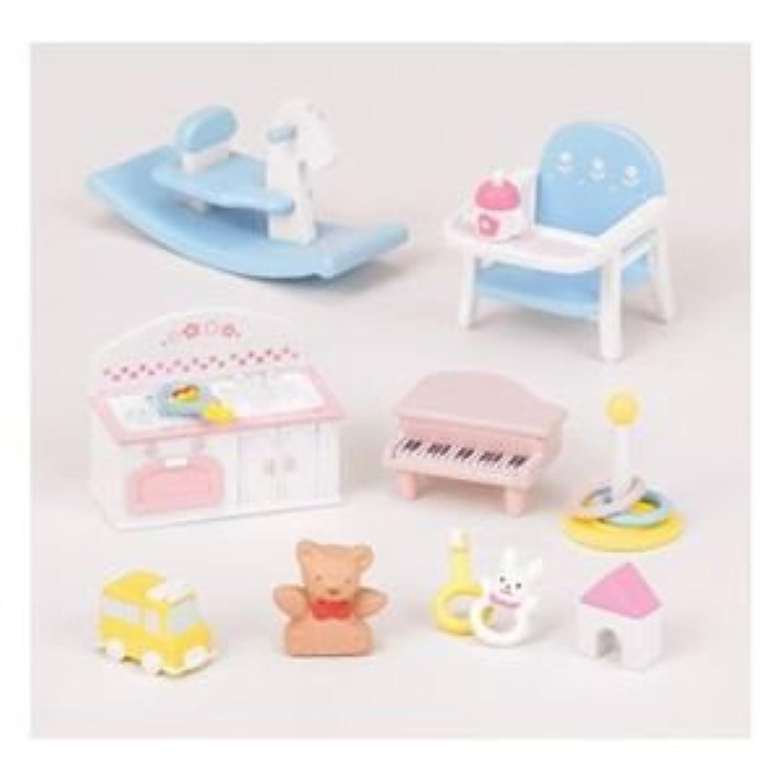エポック社 カ-211 赤ちゃんおもちゃセット 【シルバニアファミリー】