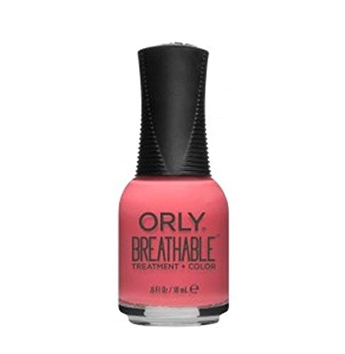 マイルド負荷揃えるORLY Breathable Lacquer - Treatment+Color - Flower Power - 18 ml / 0.6 oz