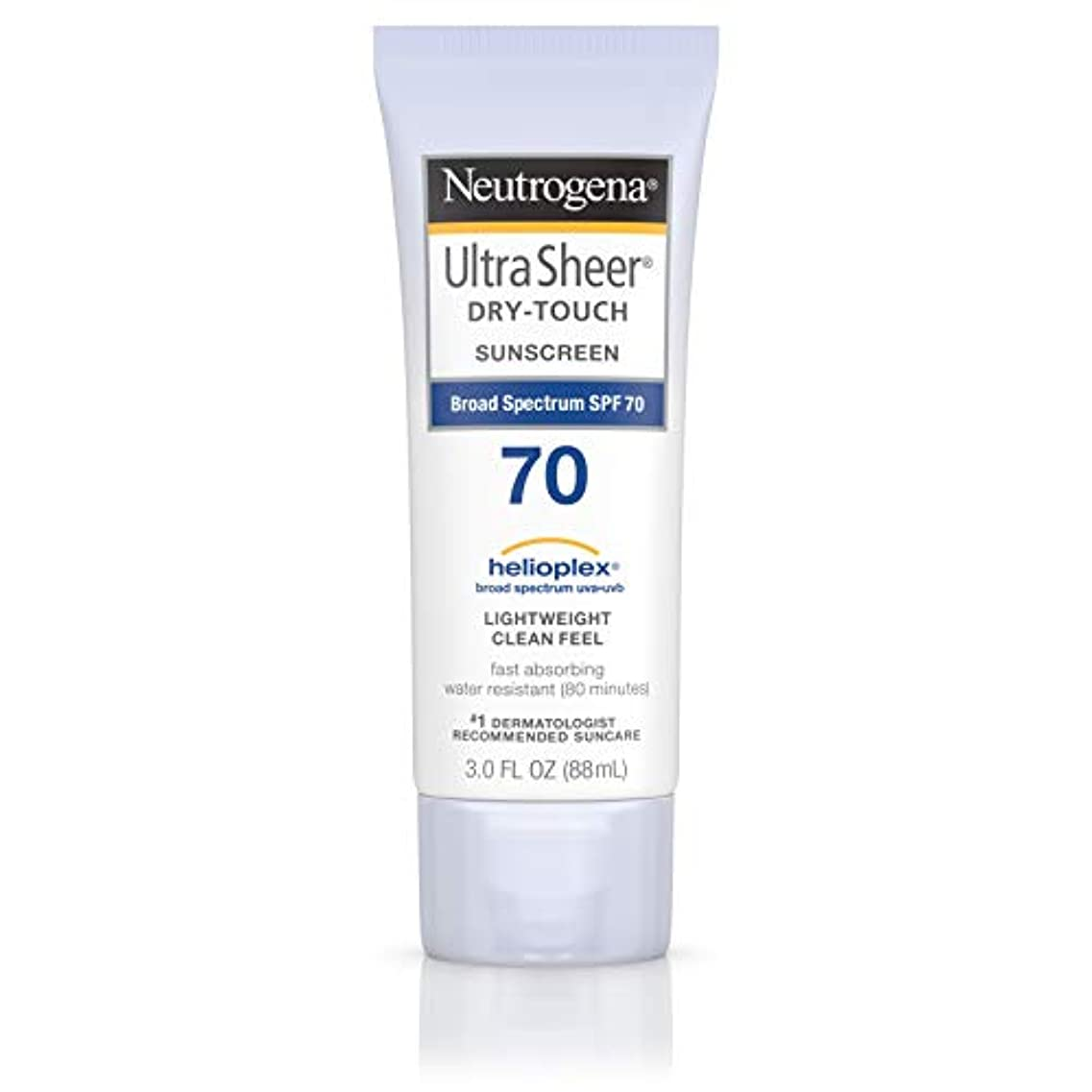 啓発する入力メドレーNeutrogena Ultra Sheer Dry-Touch Sunscreen, SPF 70, 88 ml (並行輸入品)