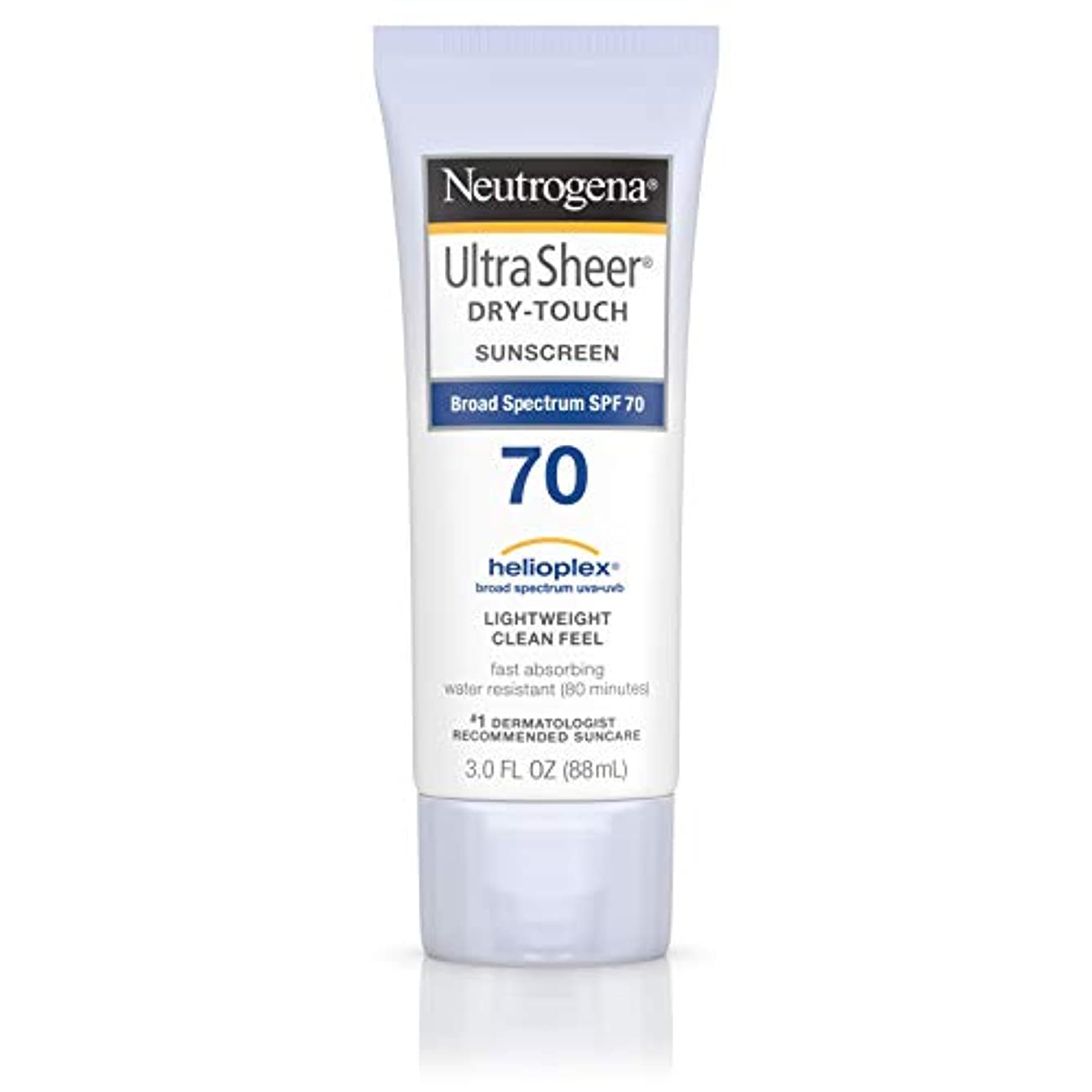 良さ旅客粘液Neutrogena Ultra Sheer Dry-Touch Sunscreen, SPF 70, 88 ml (並行輸入品)