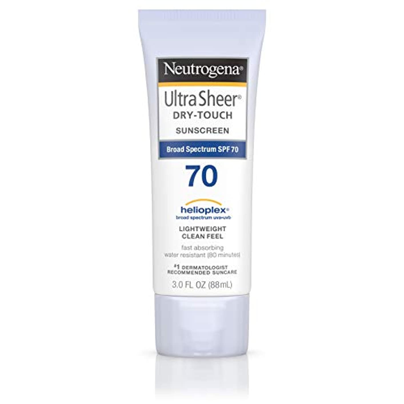 劣る要求日の出Neutrogena Ultra Sheer Dry-Touch Sunscreen, SPF 70, 88 ml (並行輸入品)