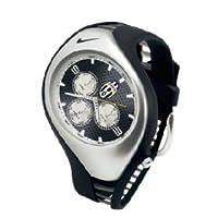 Nike Triax Swift 3iアナログJuventus Club Team Watch–ブラック/ブラック–wd0001–001
