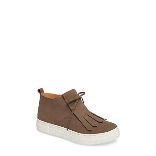 セイシェルズ シューズ スニーカー Seychelles West End Kiltie Sneaker (Wome Taupe Leat [並行輸入品]
