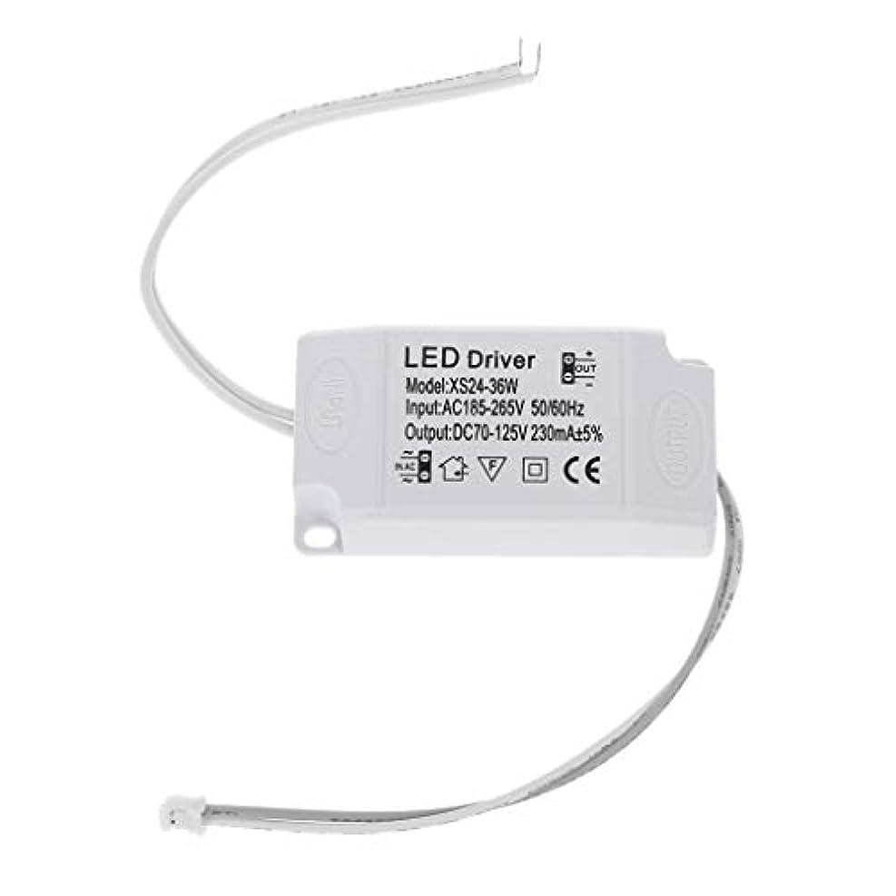 中承認スリーブLANDUM 220V LED定電流ドライバ24-36W電源出力外部用LED