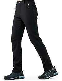(スポする) Runwho メンズ ゴルフ 登山 パンツ アウトドア 春秋冬用 防風防水防寒 ズボン ソフトシェル ロングパンツ S-XXXL