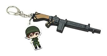GATE 自衛隊 彼の地にて、斯く戦えり 【T.W.G.】 栗林志乃&64 式7.62mm 小銃キーホルダー