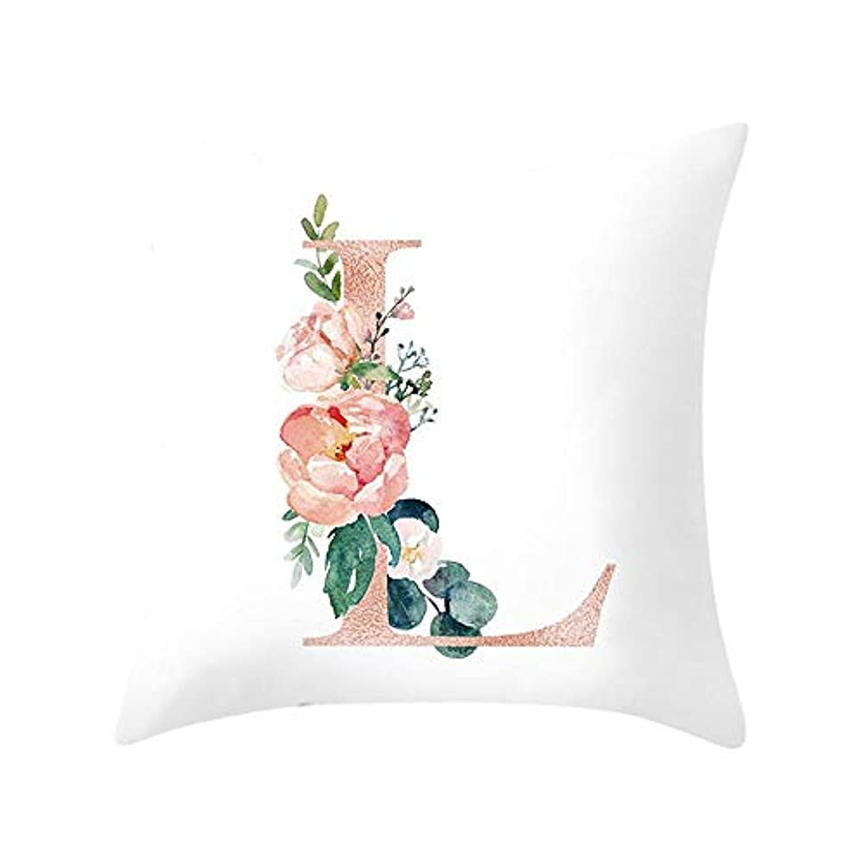 送った送った加害者LIFE 装飾クッションソファ手紙枕アルファベットクッション印刷ソファ家の装飾の花枕 coussin decoratif クッション 椅子