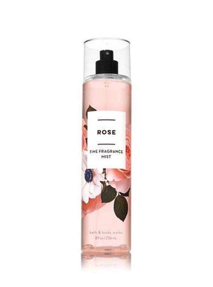 開発おもちゃ苦情文句【Bath&Body Works/バス&ボディワークス】 ファインフレグランスミスト ローズ Fine Fragrance Mist Rose 8oz (236ml) [並行輸入品]