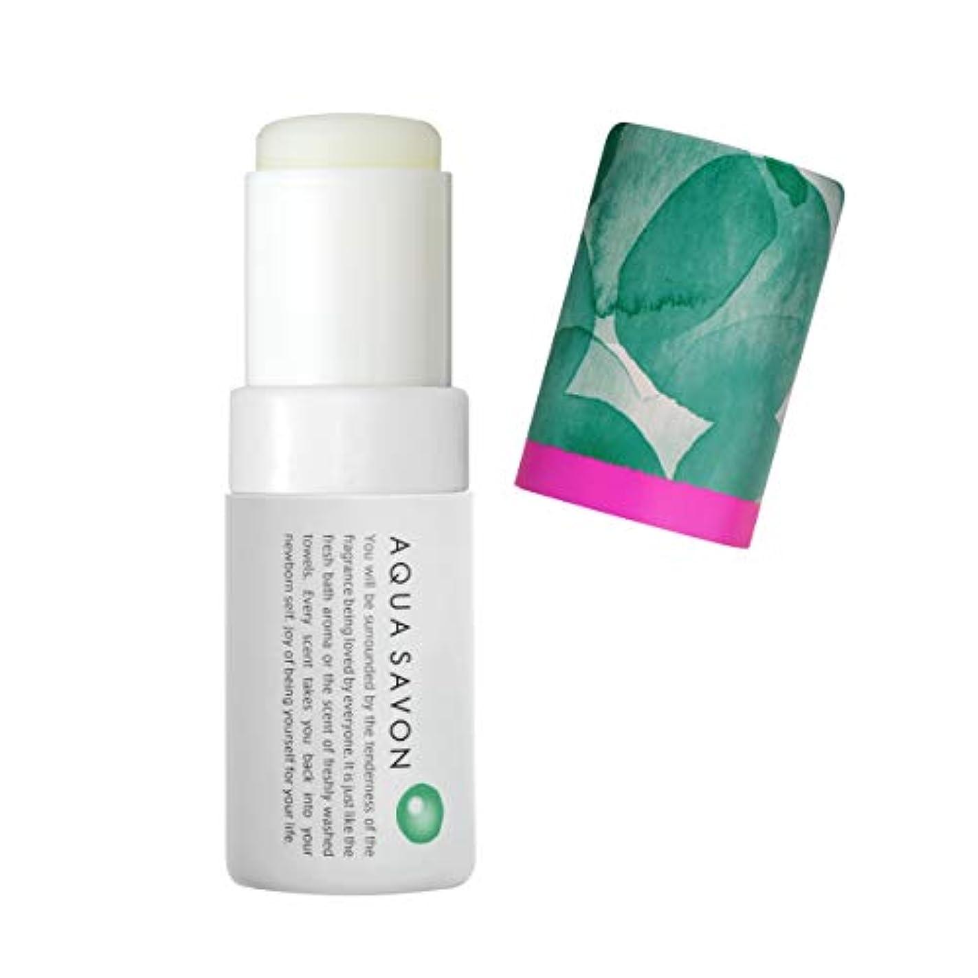寄付する連合加速するアクアシャボン スティックフレグランス ホワイトコットンの香り 18A 5.5g
