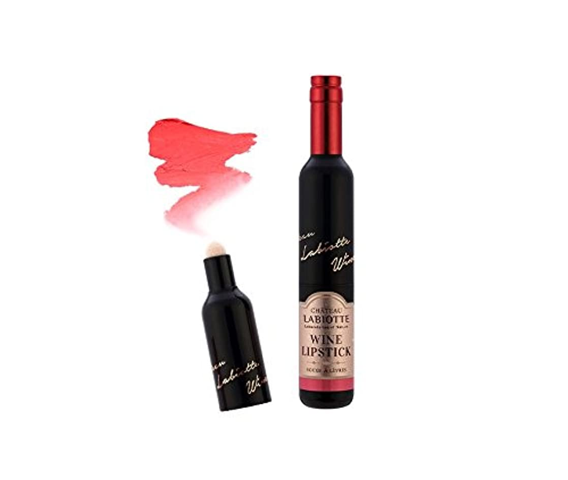 セグメントほんの取り囲むLABIOTTE (ラビオッテ) シャトーラテ ワイン リップ グロス 口紅 Melting [海外直送品] Labiotte Wine Lipstick Fitting (RD02 Pinot Red)
