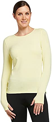 Solbari UPF 50+ Women's Sun Protection Long Sleeve T-Shirt - UV Protection, Sun Protec