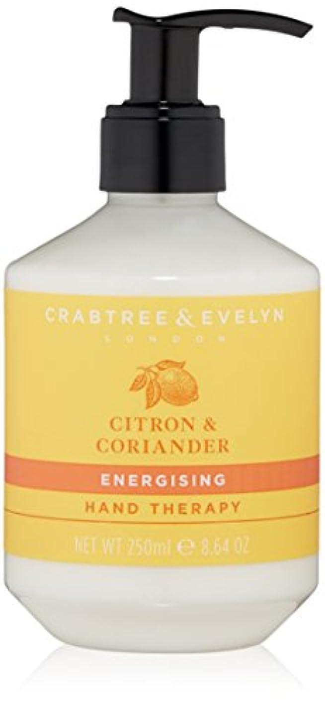 鉱石ナプキン贈り物クラブツリー&イヴリン Citron & Coriander Energising Hand Therapy 250ml/8.64oz並行輸入品