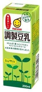 マルサン 調製豆乳 200ml ×24本