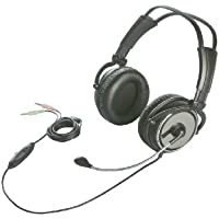 iBUFFALO 両耳ヘッドバンド式ヘッドセット 完全密閉タイプ ブラック BSHSH11BK