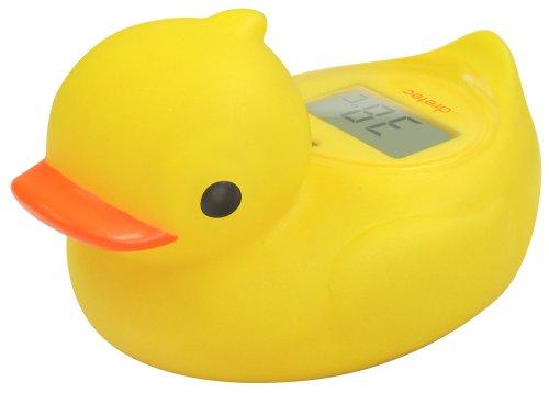 ドリテック デジタル湯温計 ガーくん イエロー O-238NYE
