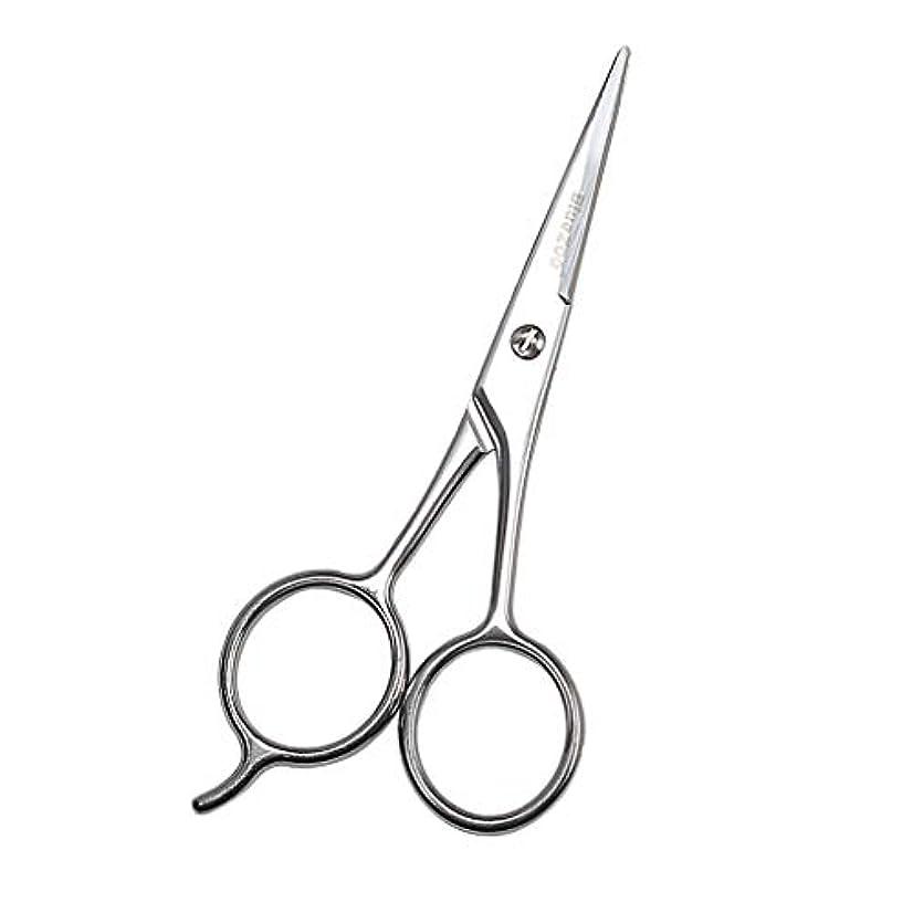 きしむ可能性吐き出す小型ハサミ シザー 美容鋏 ステンレス 眉毛 鼻毛 まつげ 鋭い シルバー 13cm