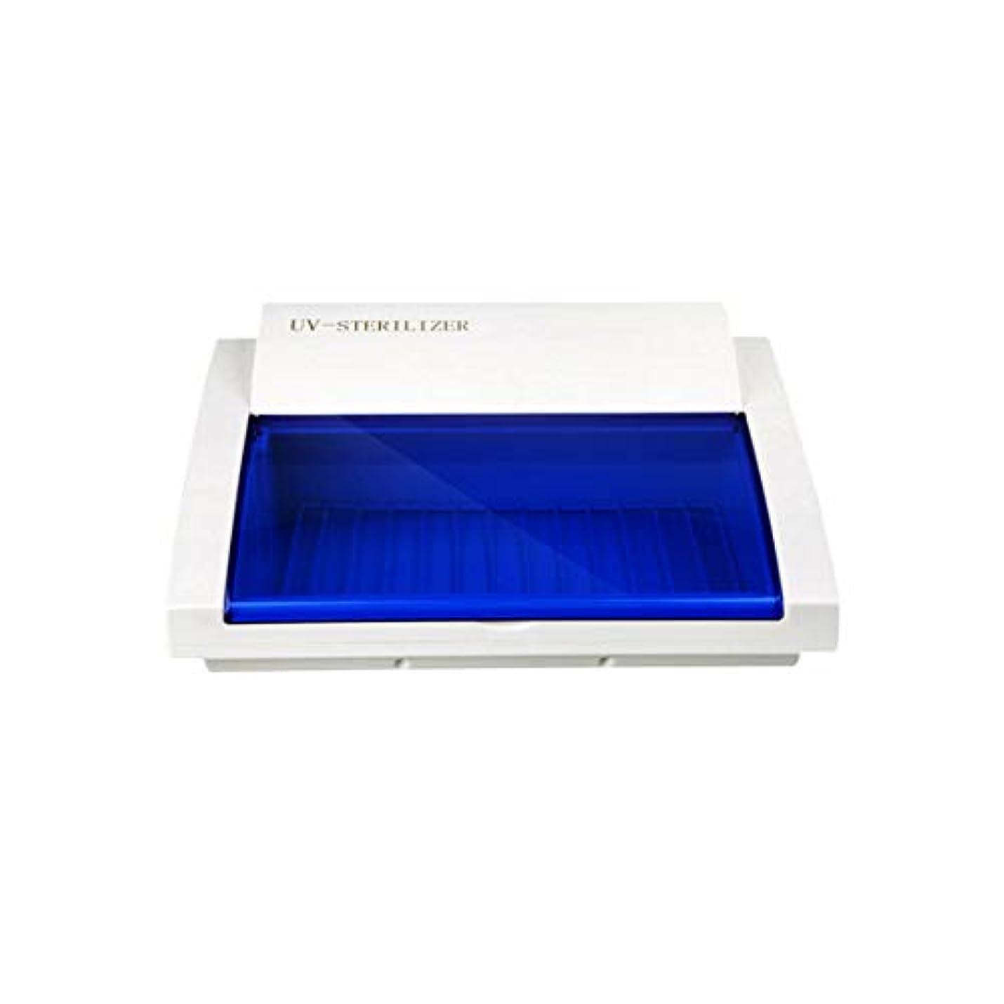 IntercoreyポータブルサイズUV滅菌ネイルマニキュアツール消毒キャビネットボックス滅菌装置ハイテクオゾンUV保護