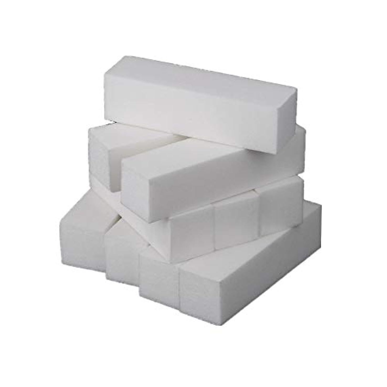 エキスパートエンドウ呼ぶネイルアート 専用 爪やすり 爪磨き 4面 10本 ブロックバッファー ネイルシャイン ネイルケア