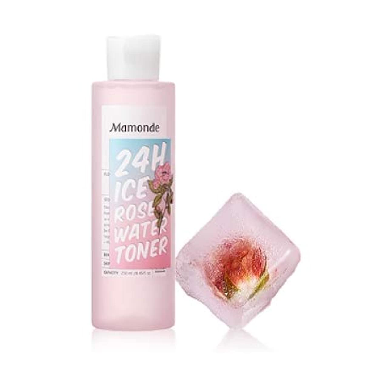 ドキドキパーチナシティ突進【マモンド.mamonde](公式)24Hアイスローズウォータートナー(250ml)(2019.05 new product)/ ice rose water toner