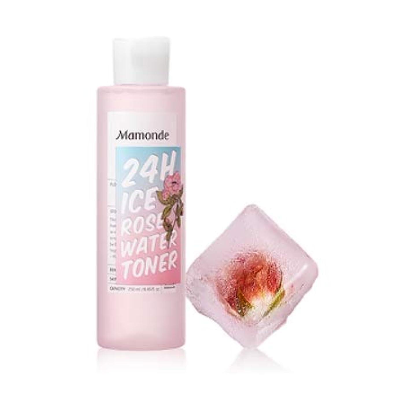 引退した弾薬クスクス【マモンド.mamonde](公式)24Hアイスローズウォータートナー(250ml)(2019.05 new product)/ ice rose water toner