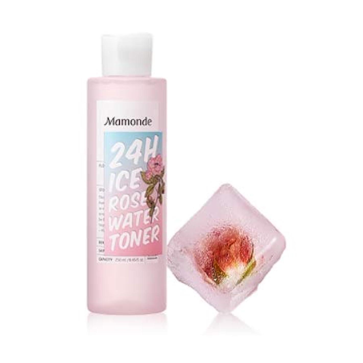 振幅うぬぼれた社員【マモンド.mamonde](公式)24Hアイスローズウォータートナー(250ml)(2019.05 new product)/ ice rose water toner