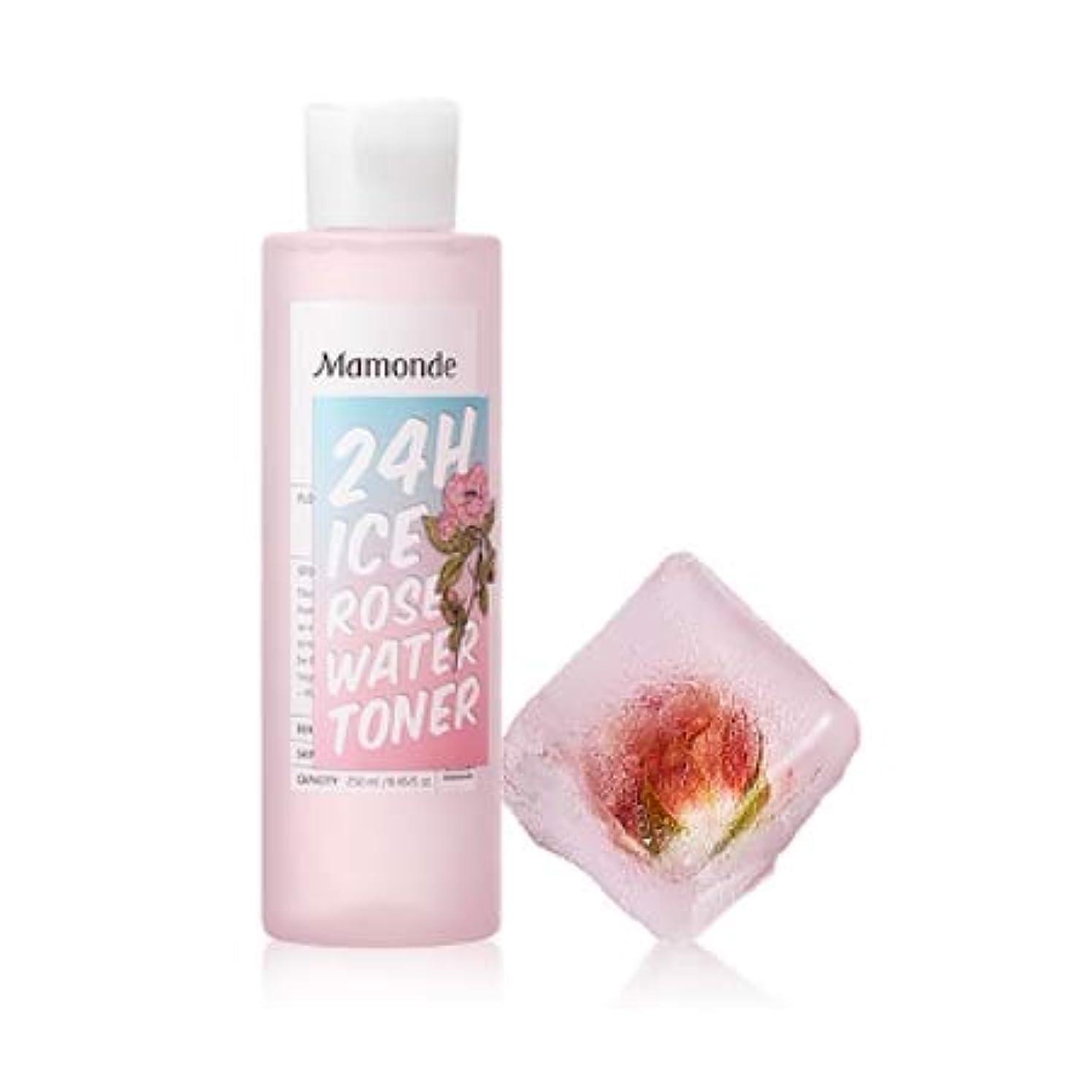 愛情安西計算可能【マモンド.mamonde](公式)24Hアイスローズウォータートナー(250ml)(2019.05 new product)/ ice rose water toner