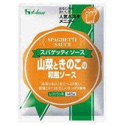 ハウス食品 山菜ときのこの和風ソース145g×30個入×(2ケース)
