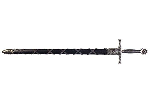 模造刀剣(装飾品) 洋剣 4170NQ アーサー王スオード ザ・エクスキャリバー シルバー