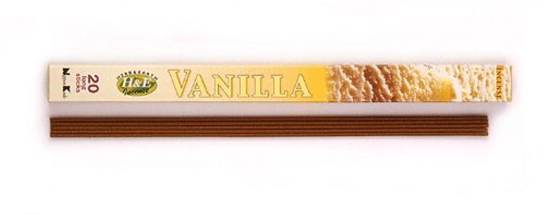 一貫した施し非公式HERB&EARTH Incense VANILLA バニラ スティック 【お香】