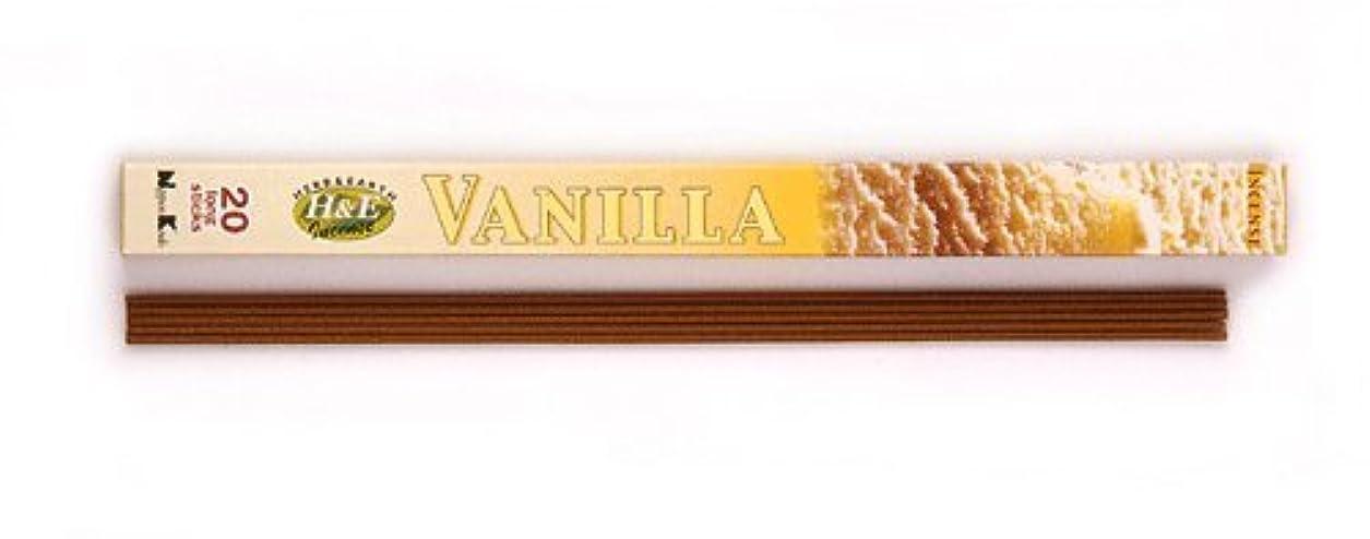 容量寄り添う臭いHERB&EARTH Incense VANILLA バニラ スティック 【お香】
