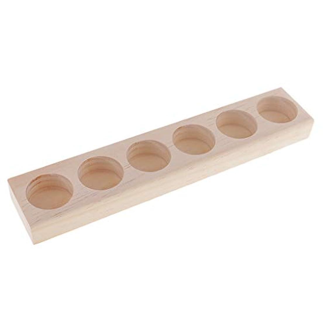 肌寒いアウター主人Fenteer エッセンシャルオイル 収納ラック 木製 精油 オーガナイザー ジュエリー 化粧品 収納用品