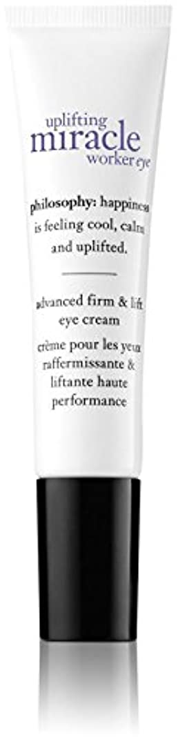 反発する基礎理論断片Philosophy Uplifting Miracle Worker Eye Cream - 0.5 oz by Philosophy