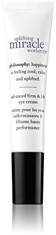 忠誠ドキュメンタリーしょっぱいPhilosophy Uplifting Miracle Worker Eye Cream - 0.5 oz by Philosophy