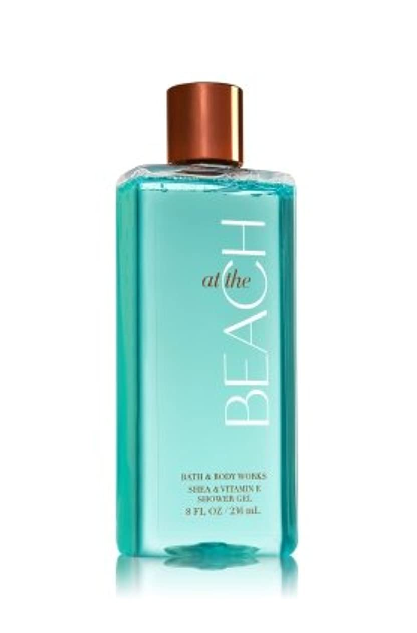 アルファベット順ほかに印象【Bath&Body Works/バス&ボディワークス】 シャワージェル アットザビーチ Shower Gel At The Beach 8 fl oz / 236 mL [並行輸入品]