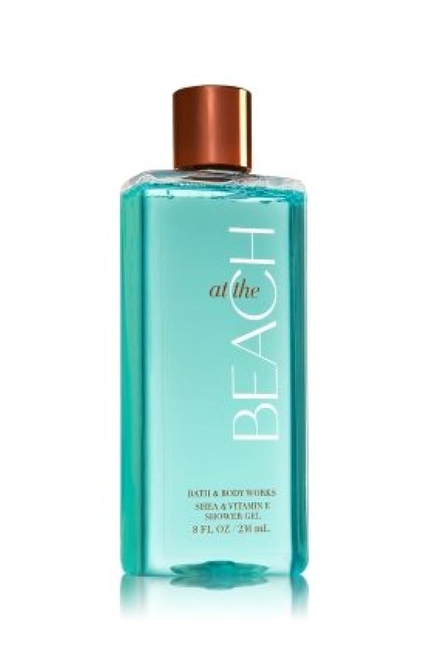 章切手復活【Bath&Body Works/バス&ボディワークス】 シャワージェル アットザビーチ Shower Gel At The Beach 8 fl oz / 236 mL [並行輸入品]
