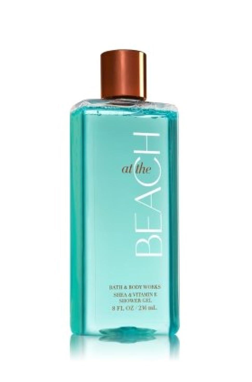 マディソン巻き取り変数【Bath&Body Works/バス&ボディワークス】 シャワージェル アットザビーチ Shower Gel At The Beach 8 fl oz / 236 mL [並行輸入品]