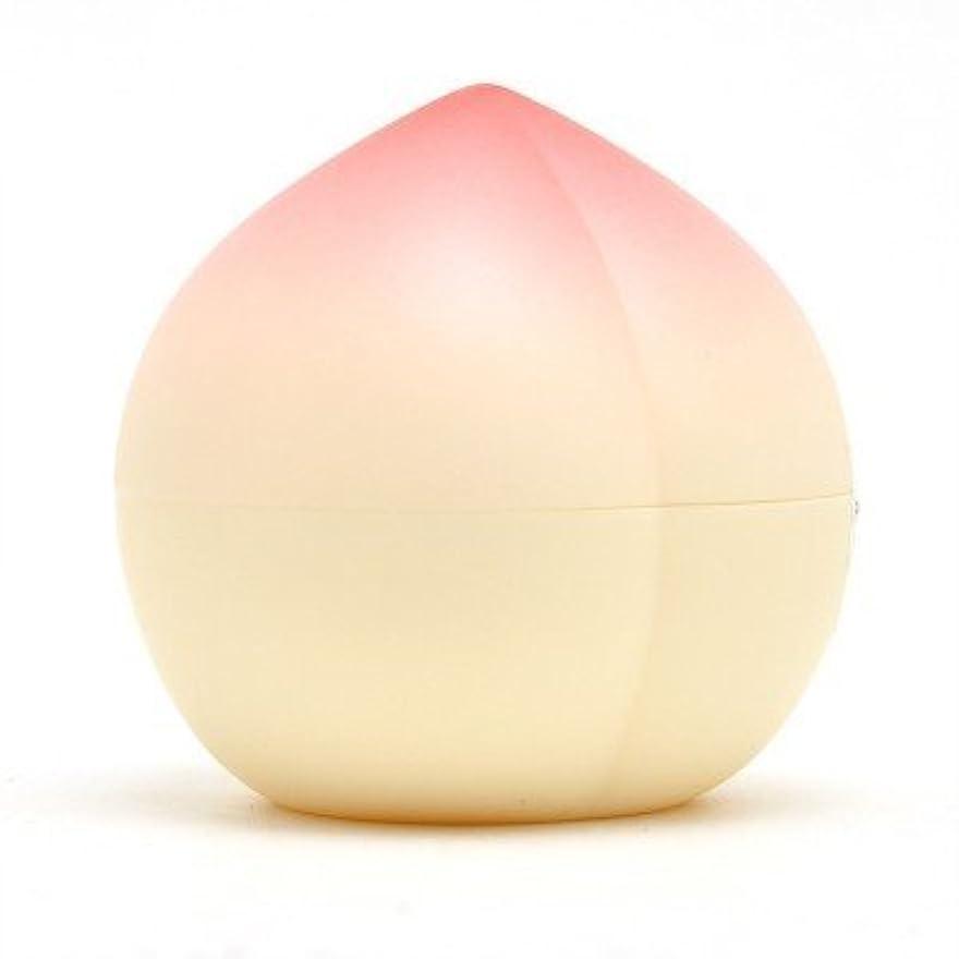 いつも中庭世界に死んだTONYMOLY トニーモリー ピーチ?ハンドクリーム 30g (Peach Antiaging Hand Cream) 海外直送品
