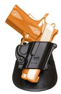Fobusパドルハンドガンホルスターモデルc-21b。Fits to : Colt。45govt.すべて1911スタイル、FN–FN高電源、FN 49、Kimber 4インチ、5インチ、Sarsilmaz (トルコ) Klinic 2000ライト。Hand Gun Holdster