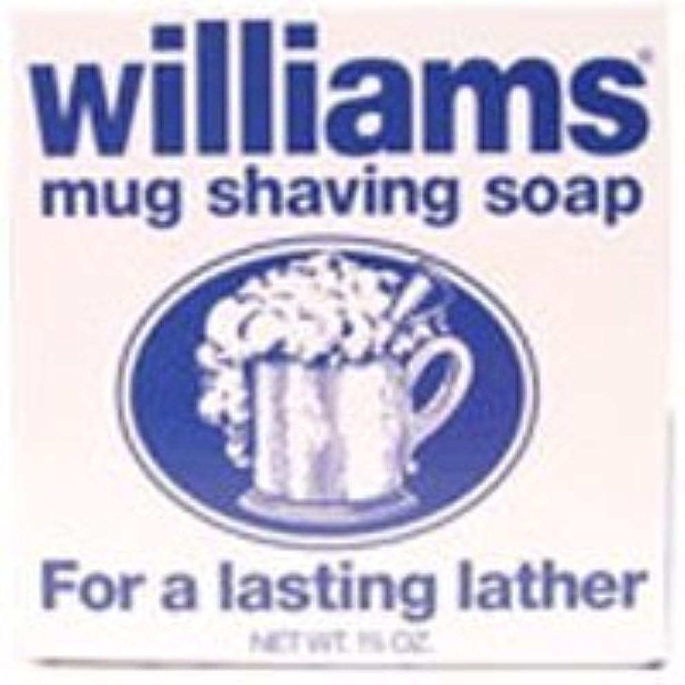 縮約人工的な定期的にWilliams mug shaving soap - 1.7 oz [並行輸入品]