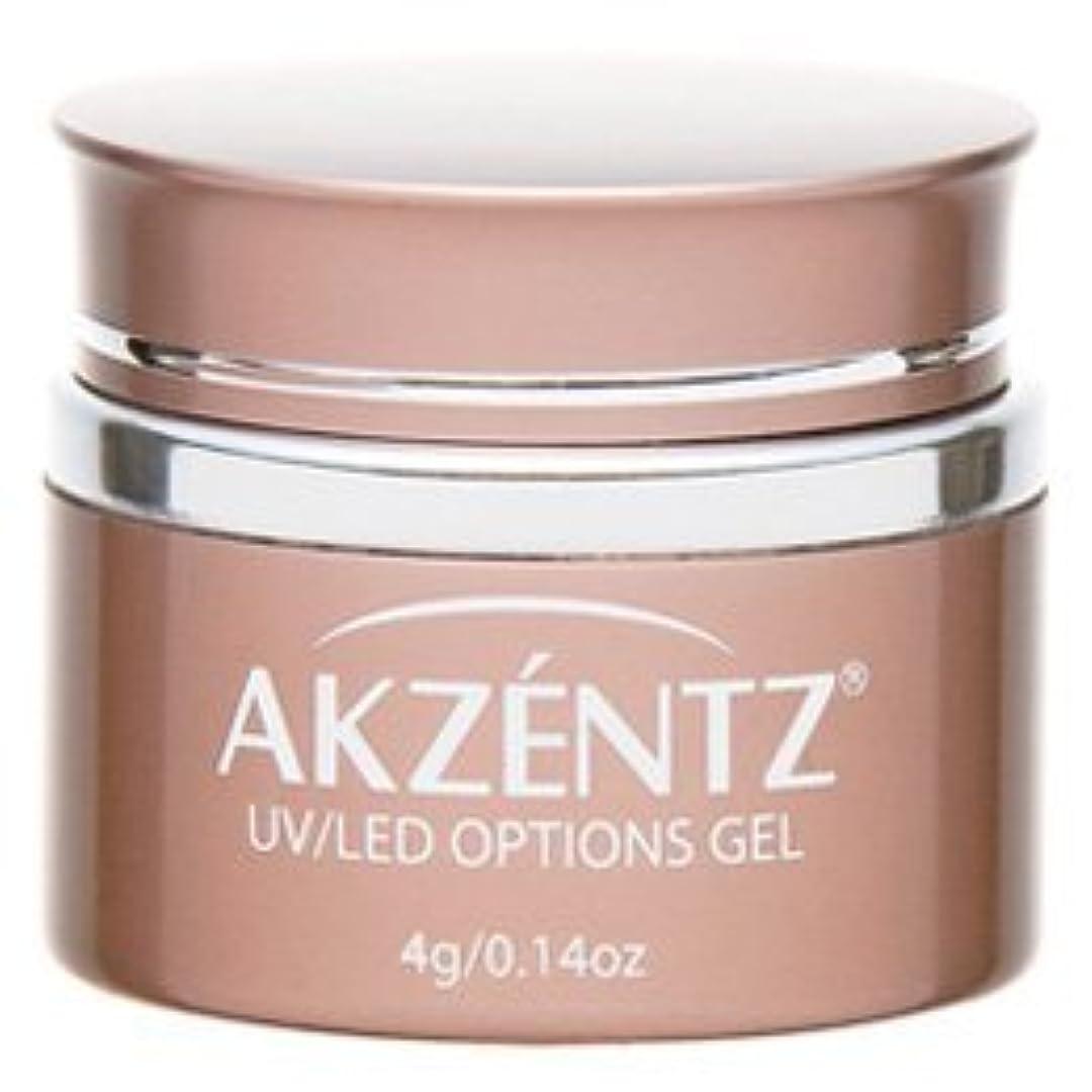 毒液選択するに対応AKZENTZ(アクセンツ) UV/LED オプションズ クリアジェル 4g
